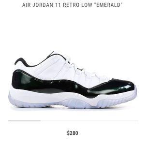Jordan 11 Emerald